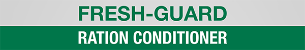 Fresh-Guard Ration Conditioner